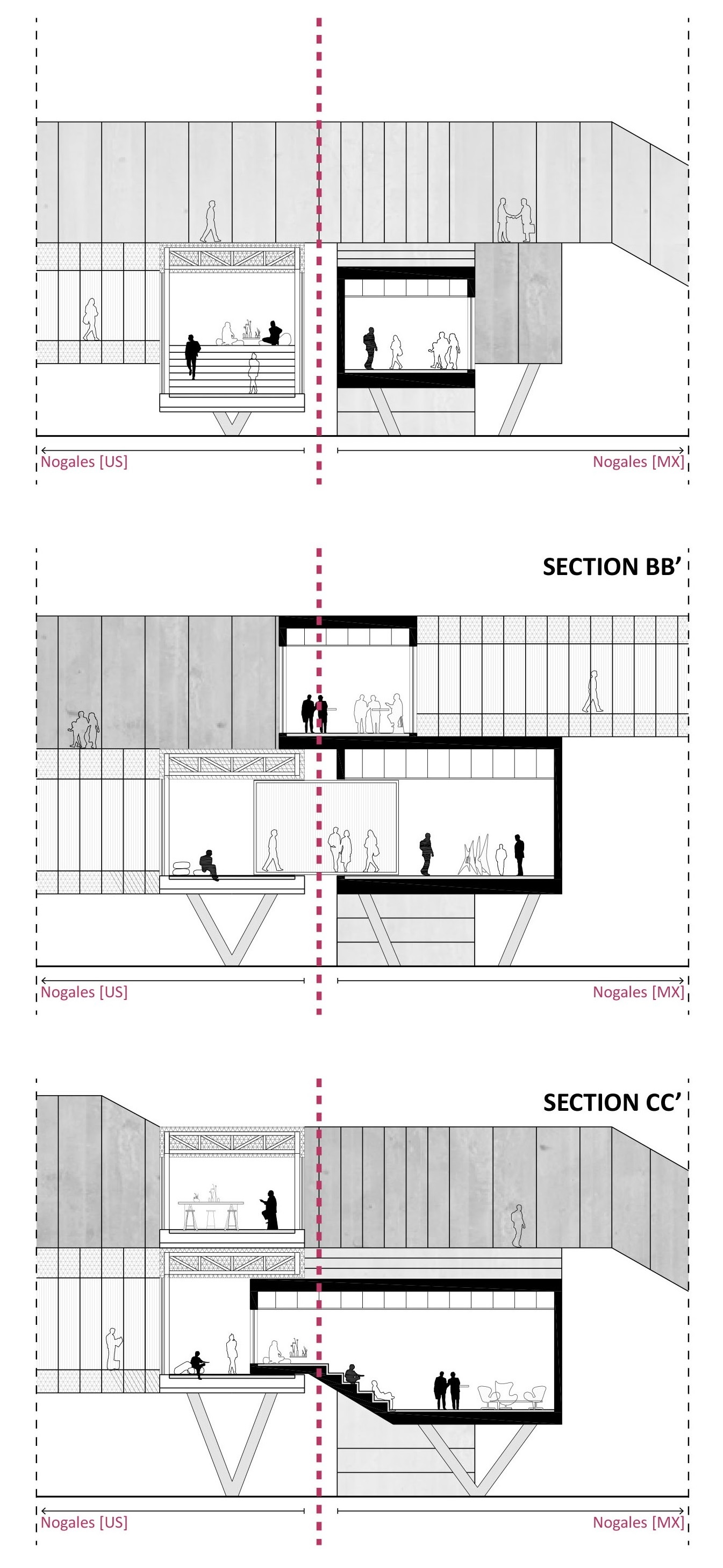 Architectural Drawing Borders border-less